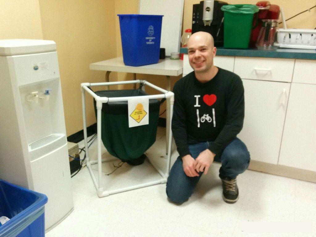 Composting at the University of Toronto Anthony Davison